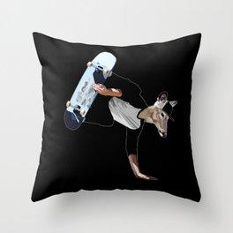 Deer Dude Throw Pillow