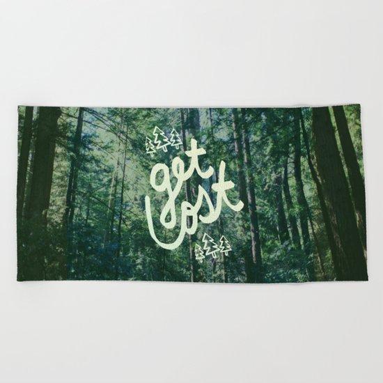 Get Lost x Muir Woods Beach Towel