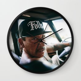 Danny Trejo Portrait Wall Clock
