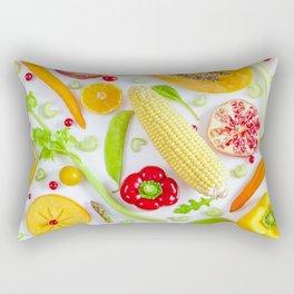 Fruits and vegetables pattern (12) Rectangular Pillow