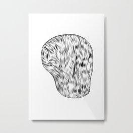 potato Metal Print