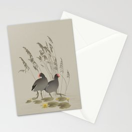 Gallinules Stationery Cards