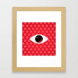 The Stalking Eye Framed Art Print