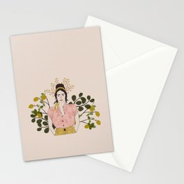 Girl with Lemons Stationery Cards