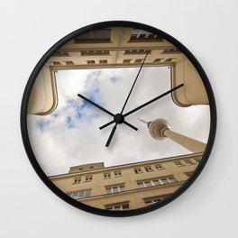 Hinterhof 84 Wall Clock