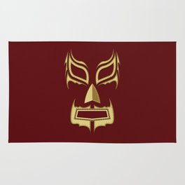Luchador Mask Bad Guy Rug