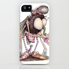 The Shoe Fly (A Flew) iPhone Case