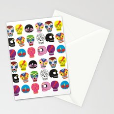 fiesta de calacas Stationery Cards