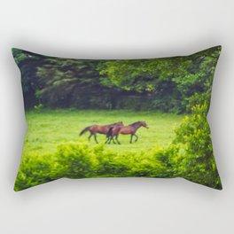 Good Friends Rectangular Pillow