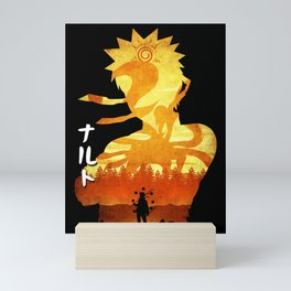 Minimalist Silhouette Hero Mini Art Print