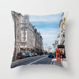 The Strand in London Throw Pillow