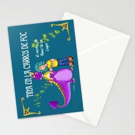 Tina & Carros de Foc Stationery Cards