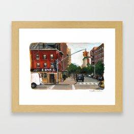 Lyric Diner Framed Art Print