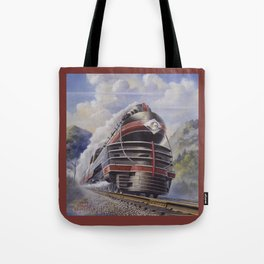 Lehigh Valley Railroad - The John Wilkes Tote Bag