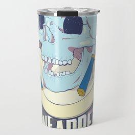 Skullture: Bone Appetit Travel Mug