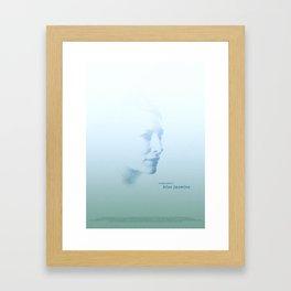 Blue Jasmine Framed Art Print