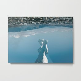 Strong and Simple Metal Print