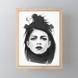 undone Framed Mini Art Print