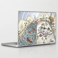 camp Laptop & iPad Skins featuring Desert Camp by Brooke Weeber