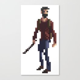 Joel The last of us Canvas Print