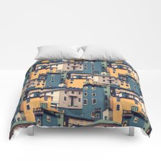 Night Castles (Pattern) Comforters