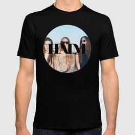 HAIM round photo logo T-shirt