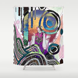 Delirium The Endless Shower Curtain