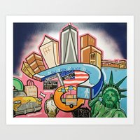 New York, New York! Art Print
