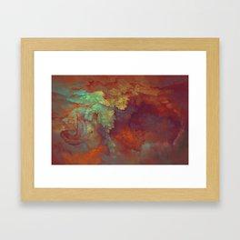 Assembly of a Complex Organism Framed Art Print