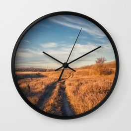 long trail Wall Clock