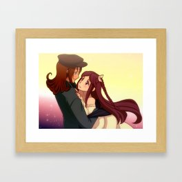 livNPC Shasta and Marie Framed Art Print