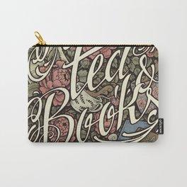 Rain, Tea & Books - Color version Carry-All Pouch