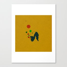 Bublle Man Canvas Print