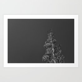 One Dead Tree 2 Art Print
