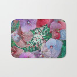Floral abstract 55 Bath Mat