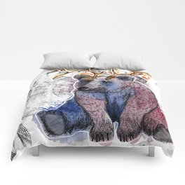 Bear relaxed Comforters