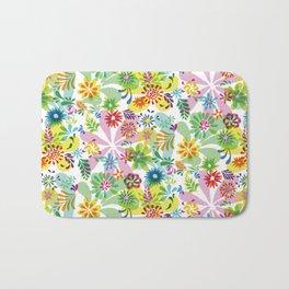Flowerpower_2 Bath Mat
