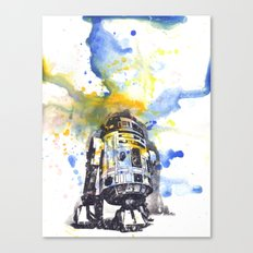R2D2 from Star Wars Canvas Print