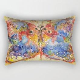 Astrazioni su ali di farfalla Rectangular Pillow