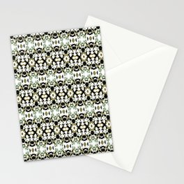 Abstract Ethnic Camouflage Stationery Cards