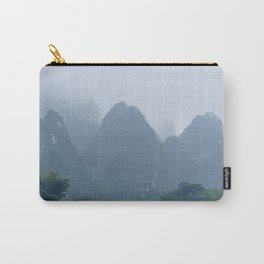 Misty Mountains of Guilin China Carry-All Pouch