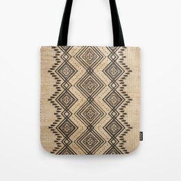 N105 - Traditional Bohemian Oriental African Moroccan Style Design. Tote Bag