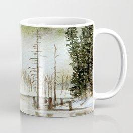 Mount Rainier Fog Coffee Mug