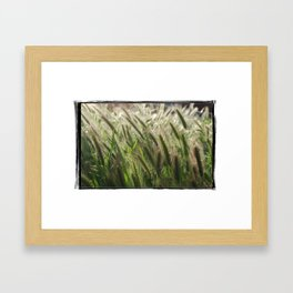 Soft Breeze Framed Art Print