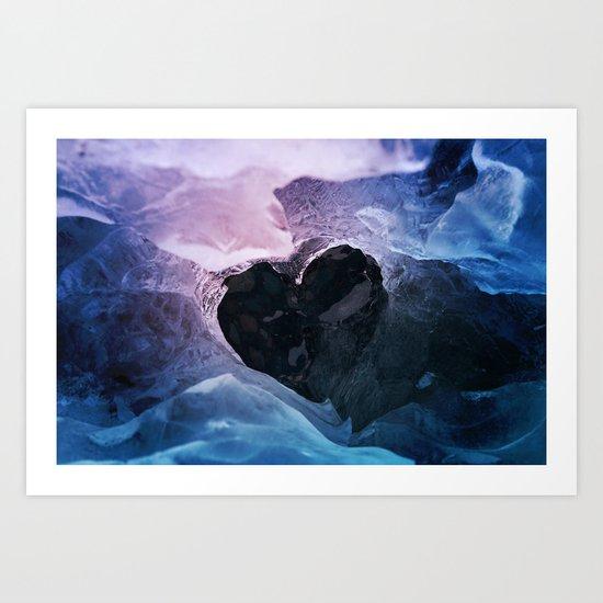 Cold Love Art Print