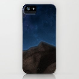 Mountain's Night iPhone Case