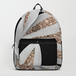 Agave Finesse Glitter Glam #6 #tropical #decor #art #society6 Backpack