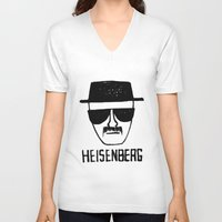 breaking V-neck T-shirts featuring Heisenberg - Breaking Bad Sketch by Bright Enough💡