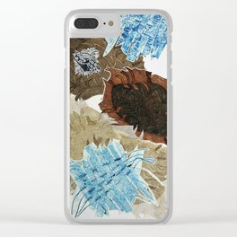 Carbonation Collection: ski Clear iPhone Case