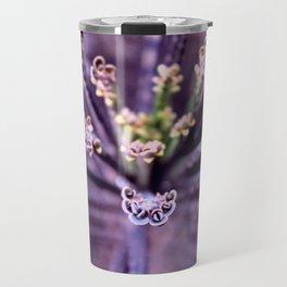 Purple Euphorbia in Detail Travel Mug